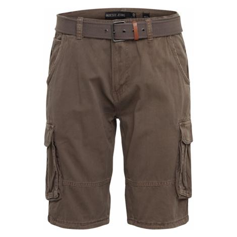INDICODE JEANS Spodnie 'Monroe' brązowy