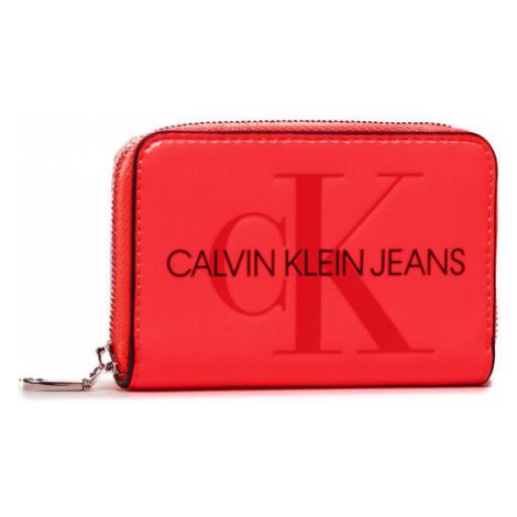 Calvin Klein Jeans Mały Portfel Damski Accordion Zip Around K60K607229 Różowy