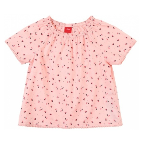 S.Oliver Junior Bluzka różowy / czerwony