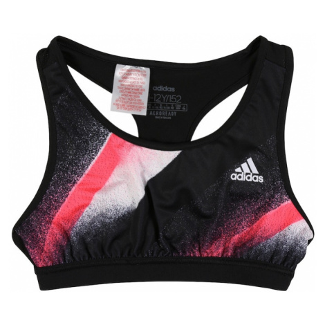 ADIDAS PERFORMANCE Bielizna sportowa czarny / różowy / biały