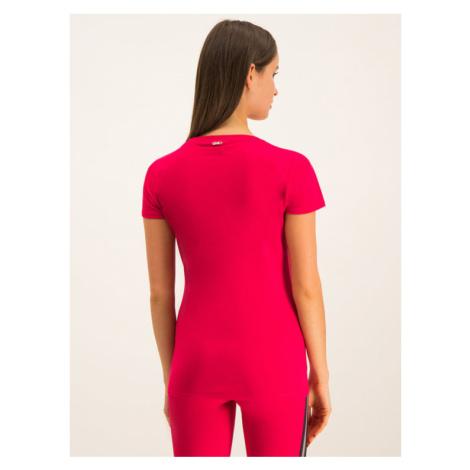 Liu Jo Sport T-Shirt T69144 J0088 Czerwony Regular Fit