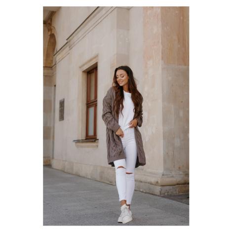 Lemoniade Woman's Sweater LS297 Cappuccino