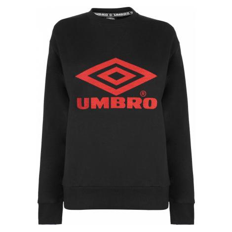 Umbro Womens Logo Crew Sweater