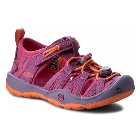 Sandały KEEN - Moxie Sandal 1016356 Purple Wine/Nasturtium