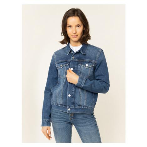 Calvin Klein Jeans Kurtka jeansowa J20J212770 Granatowy Regular Fit