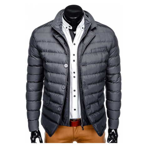 Ombre Clothing Men's mid-season quilted jacket C364