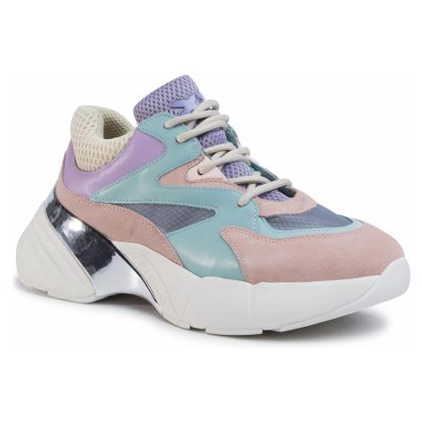 Sneakersy PINKO - Maggiorana 2 Sneaker PE 20 BLKS1 1H20PU Y5ZT Acqua/Rosa/Villa TY7