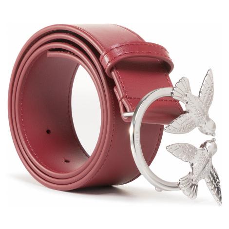 Pasek Damski PINKO - Berry Simply 4 Belt AI 20-21 PLT01 1H20S5 Y5FF Bordeaux R33