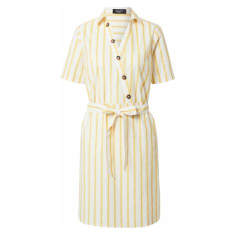 SISTERS POINT Letnia sukienka 'VARAS' żółty / offwhite