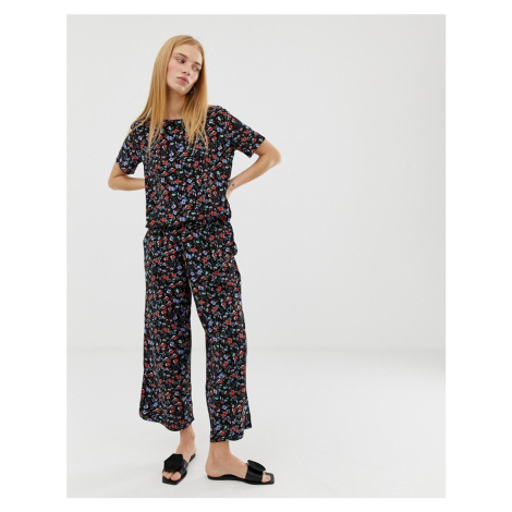 B.Young floral cropped trousers