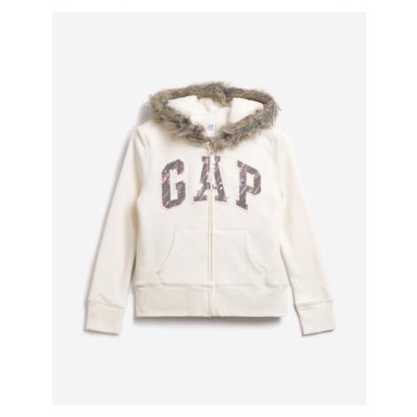 GAP Bluza dziecięca Biały