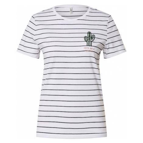 ONLY Koszulka 'Kita' zielony / biały