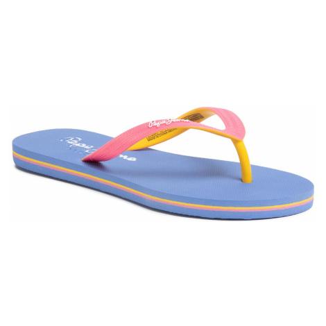 Japonki PEPE JEANS - Beach Basic Girl PGS70032 Bright Pink 338