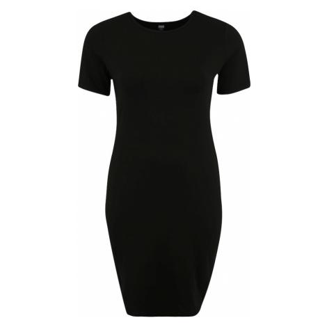 Urban Classics Curvy Sukienka czarny / mieszane kolory