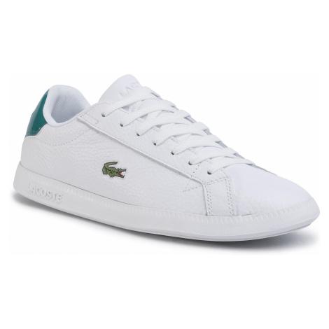 Sneakersy LACOSTE - Graduate 120 1 Sma 7-39SMA0020082 Wht/Grn
