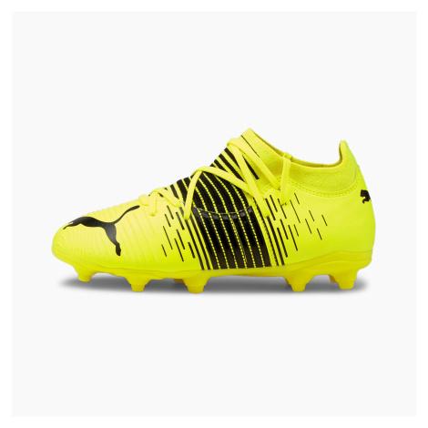 PUMA Młodzieżowe Buty Piłkarskie FUTURE Z 3,1 FG/AG, Czarny / Biały