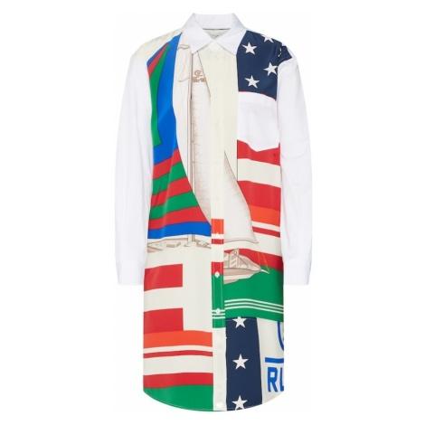 POLO RALPH LAUREN Sukienka koszulowa mieszane kolory / biały