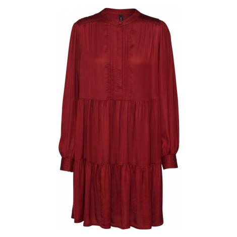Y.A.S Sukienka koktajlowa 'YASPAMELA' czerwone wino