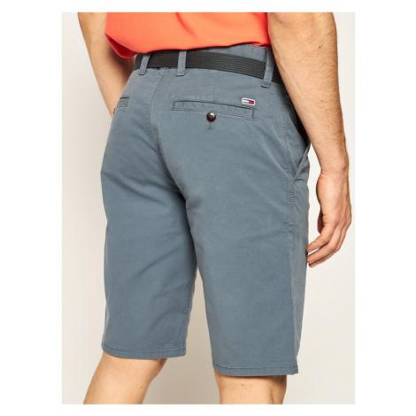 Tommy Jeans Szorty materiałowe Vintage DM0DM07932 Szary Regular Fit Tommy Hilfiger