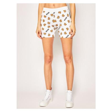 Moschino Underwear & Swim Szorty materiałowe A4322 9017 Biały Regular Fit