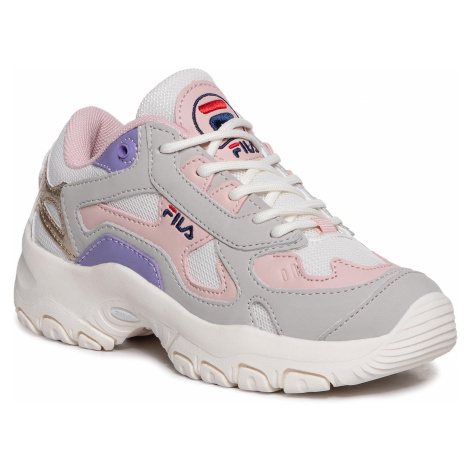 Sneakersy FILA - Select Cb Low Jr 1010854.85V Marshmallow/Sepia Rose