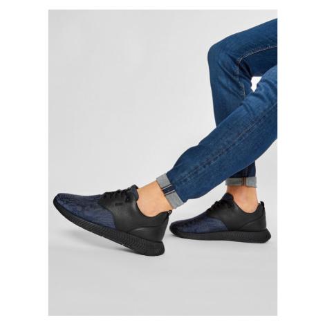 Boss Sneakersy Parkour 50445695 10214599 01 Granatowy Hugo Boss