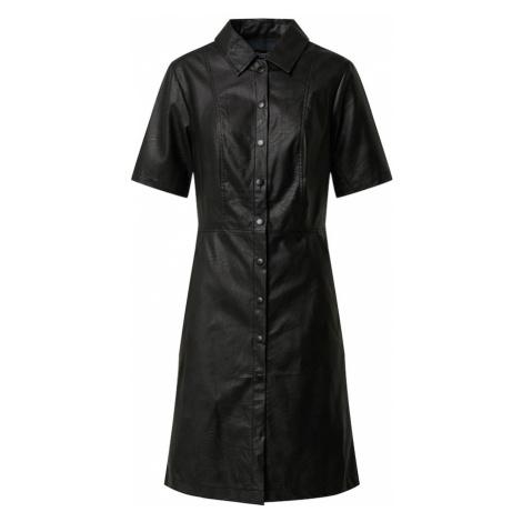 SISTERS POINT Sukienka koszulowa czarny