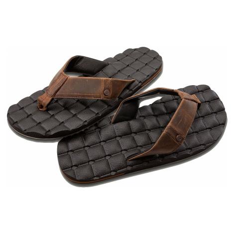 japonki Volcom Recliner Leather - Brown Stone