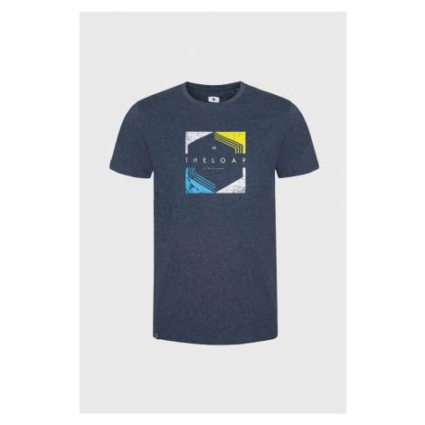 Niebieski T-shirt LOAP Bender