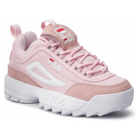 Sneakersy FILA - Disruptor Mesh Low Wmn 1010606.71D Chalk Pink