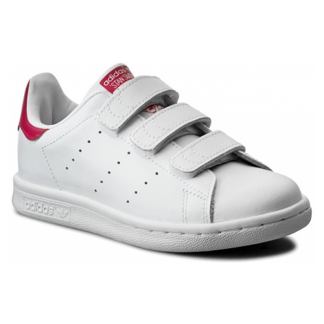Buty adidas - Stan Smith Cf C B32706 Ftwwht/Ftwwht/Bopink