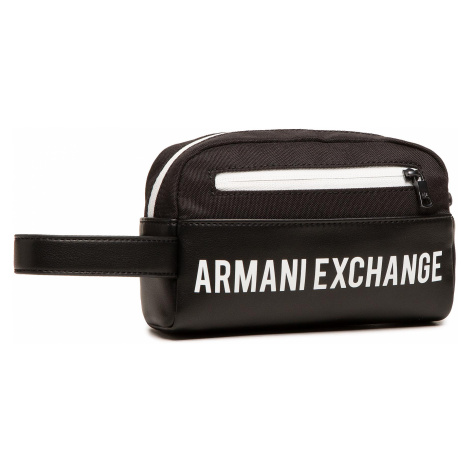Kosmetyczka ARMANI EXCHANGE - 958410 1P007 42520 Black/White