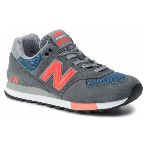 Sneakersy NEW BALANCE - ML574NFO Kolorowy Szary