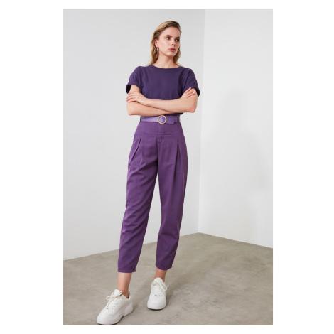 Jeansy damskie Trendyol High waist