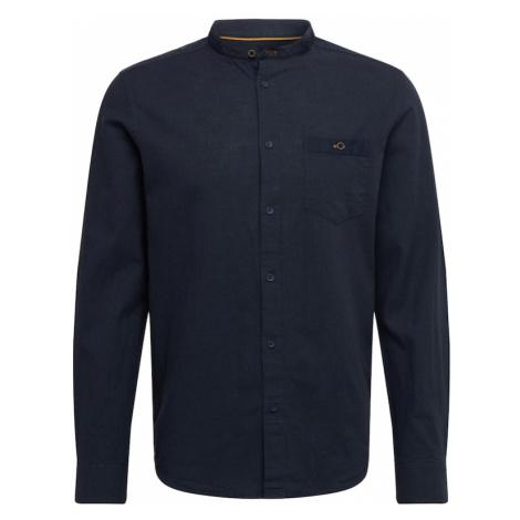 !Solid Koszula ciemny niebieski