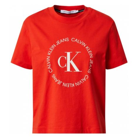 Calvin Klein Jeans Koszulka czerwony