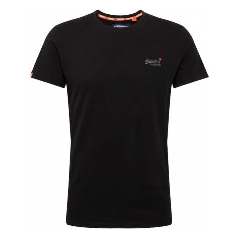 Superdry Koszulka czarny