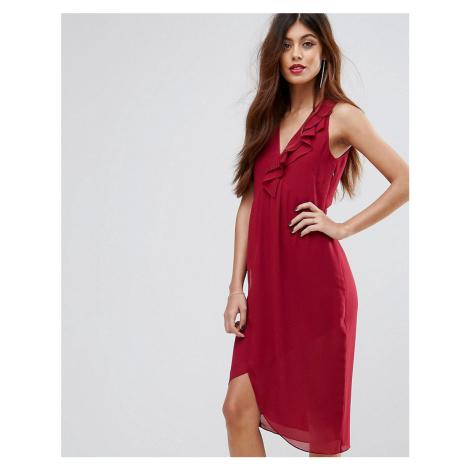 Sisley Frill Midi Dress