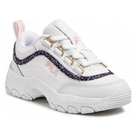 Fila Sneakersy Strada A Low Jr 1011251.94F Biały