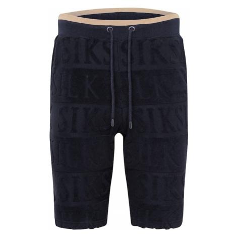 SikSilk Spodnie czarny / beżowy
