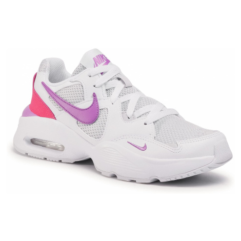 Buty NIKE - Air Max Fusion (GS) CJ3824 101 White/Purple Nebula/Watermelon