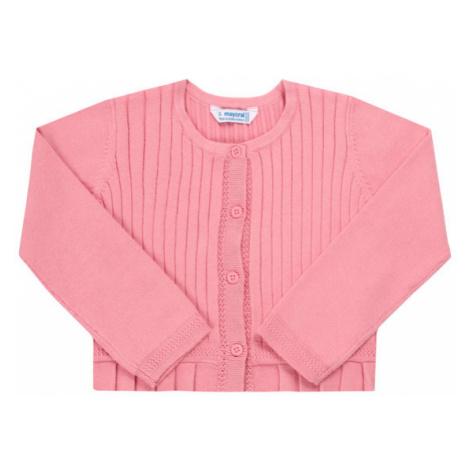 Mayoral Sweter 3320 Różowy Regular Fit
