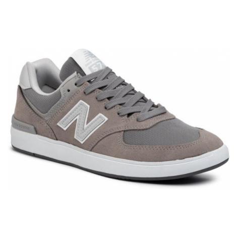 New Balance Sneakersy AM574GRR Szary