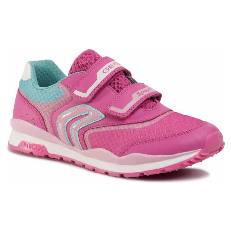 Sneakersy GEOX - J Pavel G. A J928CA 01454 C8230 D Fuschia/Pink