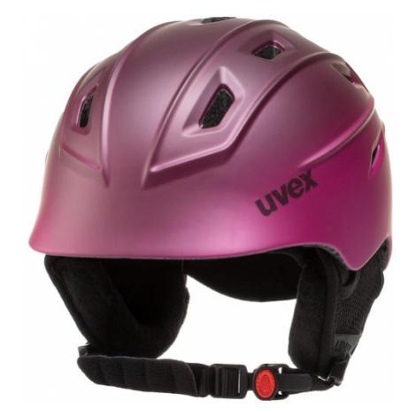 Uvex Kask narciarski Fierce S5662259303 Różowy