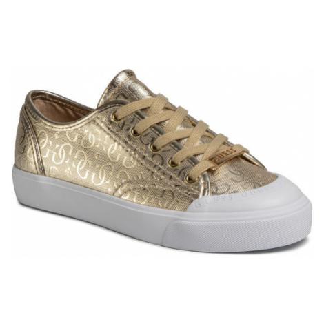 Guess Sneakersy Gitney3 FL6GI3 FAL12 Złoty