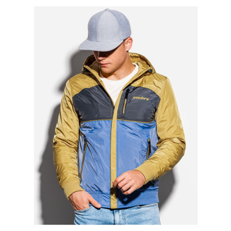 Ombre Clothing Men's mid-season quilted jacket C447