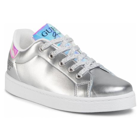 Sneakersy GUESS - Lucy FJ7LUC ELE12 SILVE