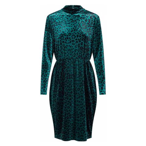 VILA Sukienka 'VILINAO L/S MIDI DRESS/DC' zielony
