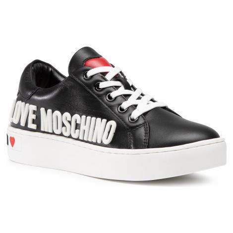 Sneakersy LOVE MOSCHINO - JA15063G1BIA0000 Nero